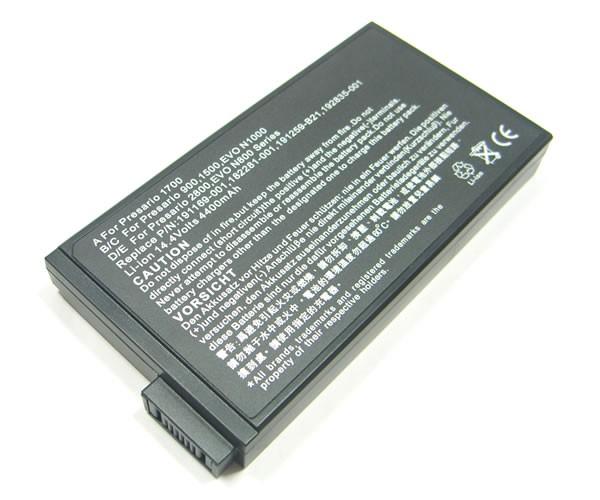 Batteri til HP Compaq Business Notebook NC6000, NC8000, NW8000, NX5000, Evo N1000C, Evo N1020V, Evo N800