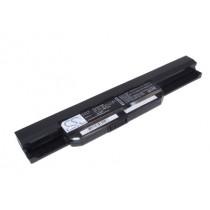 Batteri til Asus serier A43, A53, A53e, A54, A83, K43, K53, K53e,  K54, K84, P43, P53, X43, X44, X53, X54 og X84 seriene