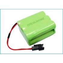 Batteri til Tivoli PAL, PAL+ og iPAL Radio, 7.2V, 2000 mAh (kontakt med to pinner)